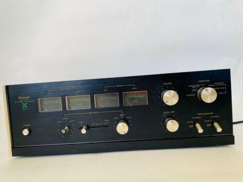 Vintage SANSUI Solid State 4 Channel Quadphonic Synthesizer QS-1 Japan