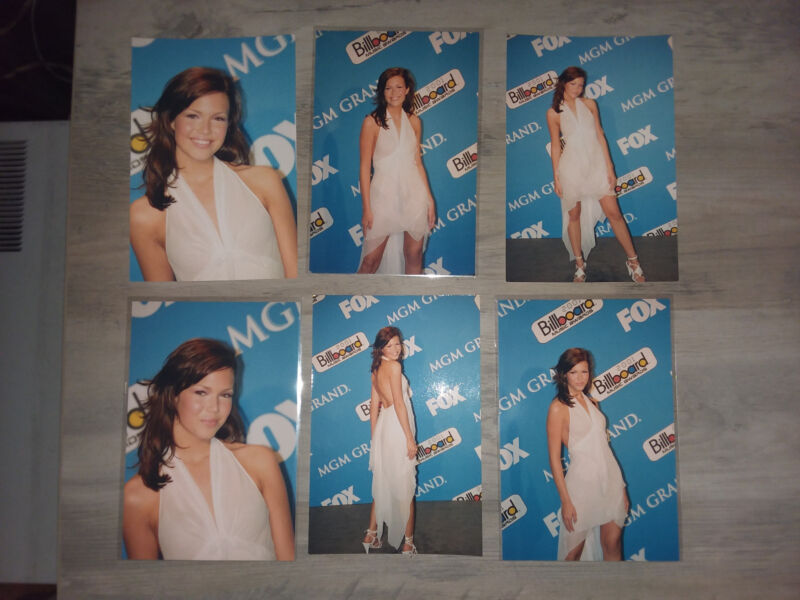 (6) Mandy Moore - 2001 Billboard Music Awards 4x6 photos