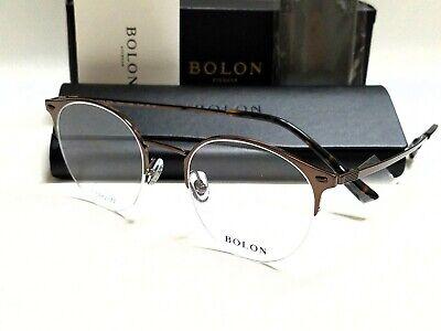 Authentic BOLON BJ1322 B20 Bronze Color Frame/Demo Lens 49mm Titanium (Colored Eyeglass Lenses)