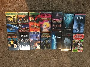 Mixed lot of factory sealed VHS for trade or cash