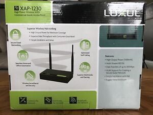 Like New: LUXUL XAP-1230 HIGH POWERED WIRELESS 300N COMMERCIAL