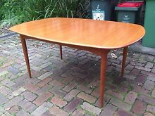 Parker mid century Scandinavian modern  extendable dining table Narraweena Manly Area Preview