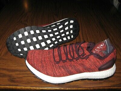 Adidas Pure Boost All Terrain running shoes sneakers red  mens size 13