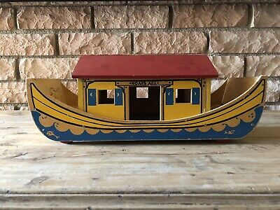 Holgate Noah's Ark Wooden Pull Toy without People And Animals