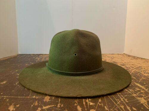 Vintage Boy Scouts Of America Hat Felt Finish