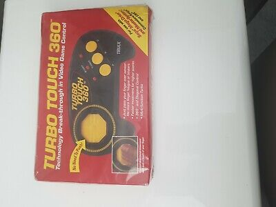 Brand New Turbo Touch 360 Control Pad Sega Megadrive Master System Amiga...