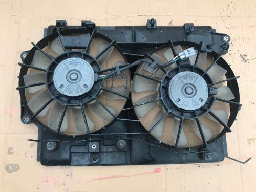 2005 - 2013 LEXUS IS220 RADIATOR FANS TWIN WITH COWL FAN DIESEL 2.2