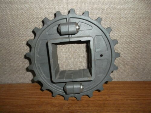 """INTRALOX S1400 SPROCKET 21T 6.7PD 170mm  2-1/2"""" SQUARE BORE"""