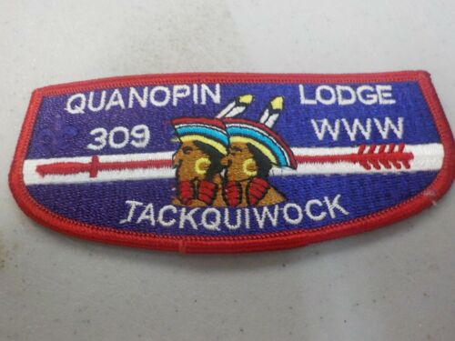 Order of the Arrow: Quanopin Lodge 309