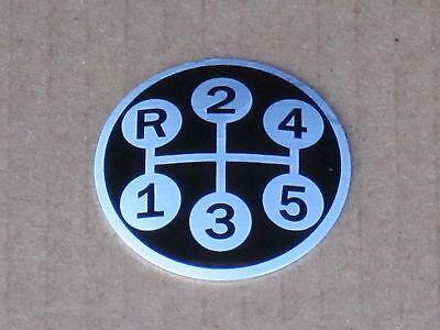 Shift Pattern Knob Insert For Ih International 544 656 664 666 686 Farmall