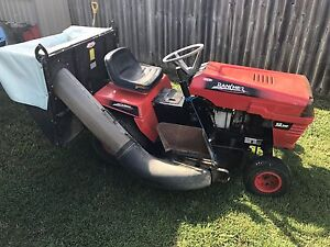 Rover Rancher ride on mower with catcher Bundaberg East Bundaberg City Preview