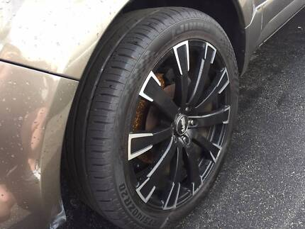 Ford Territory 20 inch rims and tyres 275/30R18