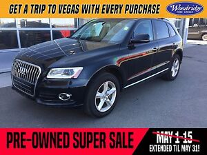 2016 Audi Q5 2.0T Komfort PRE-OWNED SUPER SALE ON NOW!