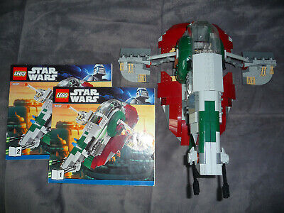 Lego Star Wars 8097 Slave 1 Ship With Instructions No Mini figures