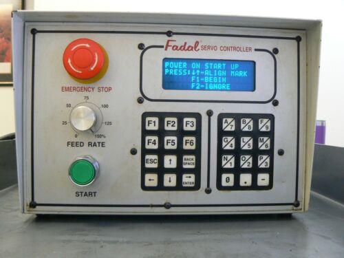FADAL 4th Axis SERVO CONTROLLER MODEL 1  19 pin connector .