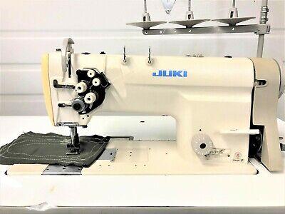 Juki Lh-3128 2 Needlefeed 58 Reverse 110volt Motor Industrial Sewing Machine