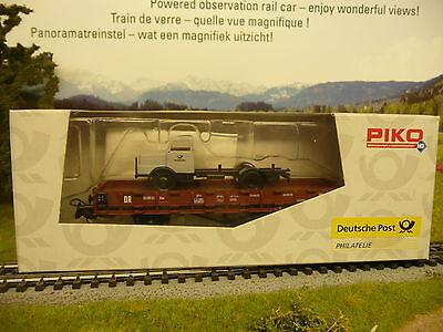 Piko H0 95478 Rungenwagen Roo63 beladen mit LKW DR  * Deutsche Post * online kaufen