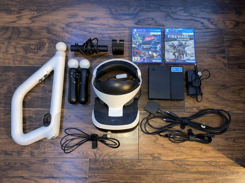 ps4 vr bundle used *excellent Condition* READY TO SHIP!