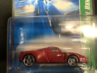 2007 Hot Wheels Super Treasure Hunt #129 Red Enzo Ferrari Red Seats in Protecto