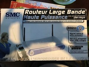 Brand new un-opened wifi router large bande