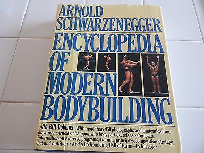 Arnold Schwarzenegger  Encyclopedia Of Modern Bodybuilding 1985 H C
