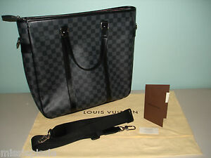 LOUIS VUITTON DAMIER GRAPHITE TADAO TOTE BAG, N51192, NWT