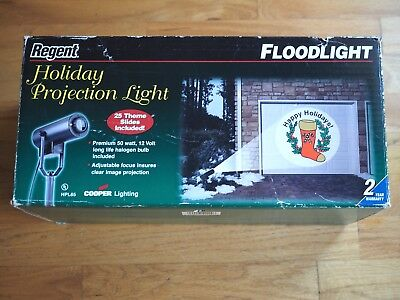 REGENT OUTDOOR Every HOLIDAY PROJECTION OUTSIDE FLOODLIGHT HPL65 Light  - Halloween Outdoor Flood Lights