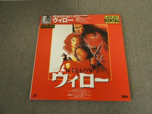 Willow - Laser Disc - OBI JAPAN LD 2disc Gold-disc