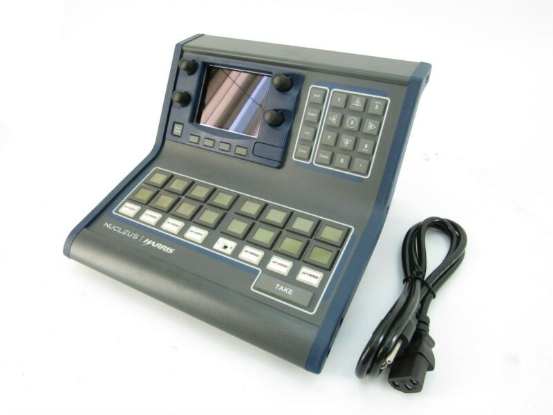Harris Nucleus-DM Broadcast Control Panel With Power Cord
