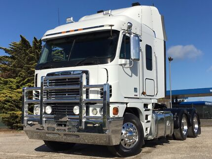 5x available Freightliner argosy's with vic rwc