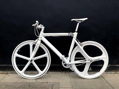single speed bike fixie track Leader Areospoke custom