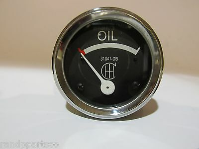 Oil Pressure Gauge Fits Farmall Ih F20 F30 31041db 0-15 Psi Special Low Pressure