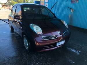 Nissan Micra 2010 with RWC in Excellent Condition