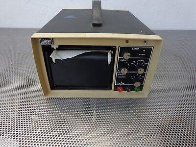 Linear Instruments 142 1-pen Strip Chart Recorder