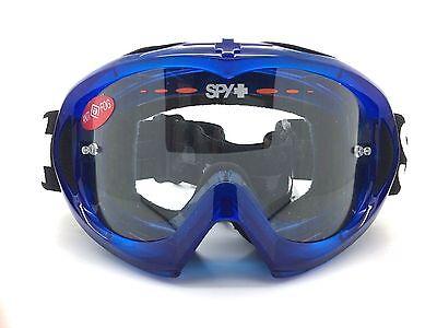 506bc6a266 SPY+ Optic Targa MX Mini Goggle 320391104097 Blue Crystal with Clear AFP  Lens