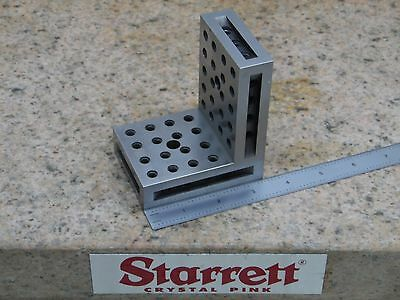 Machinist Angle Plate Toolmaker Made -2.5 X 3 78 X 3 38 Setup Mill Grinding