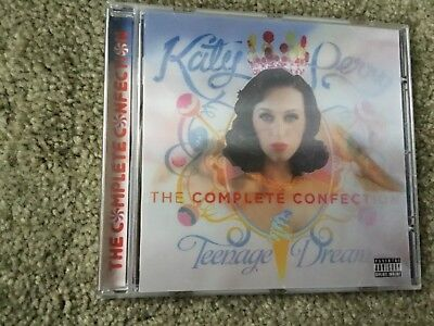 KATY PERRY - TEENAGE DREAM : THE COMPLETE CONFECTION - CD - FIREWORK / E.T. +
