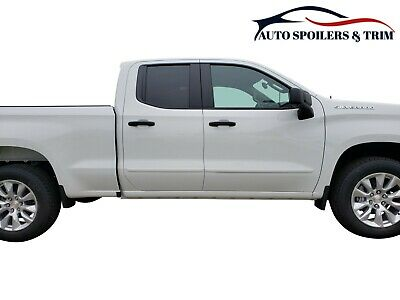 Body Side Molding Free Ship (PAINTED BODY SIDE MOLDINGS made for the CHEVROLET SILVERADO DOUBLE CAB    2019 )