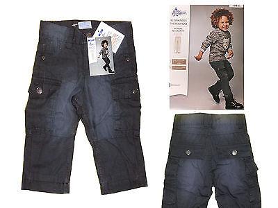 Niños Niño Bebé Pantalones Invierno De Térmicos Vaqueros Babyjeans Talla 74 Gris