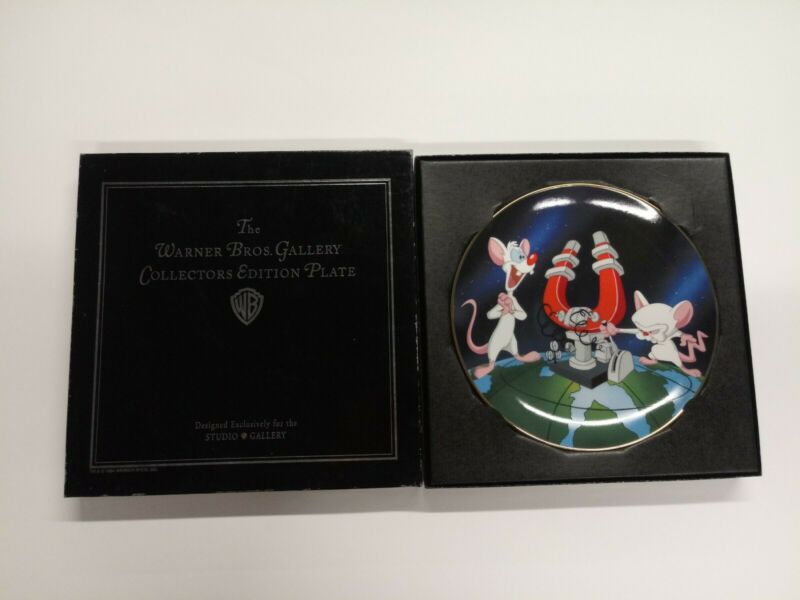 1994 Warner Bros Animaniacs Pinky & the Brain Collectors Edition Plate 1037/2500