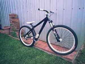 "ABD 26"" mtb DJ bike, Park bike, black and white Rockingham Rockingham Area Preview"