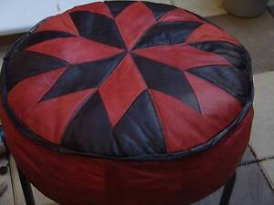 Ottoman / Foot stool Genuine Leather - Brand New Adelaide CBD Adelaide City Preview