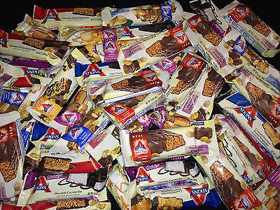 50 Assorted Flavors Atkins   Advantage   Endulge   Protein Meal Snack Treat Bars