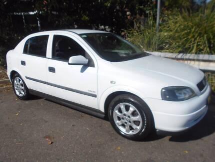 2003 Holden Astra Hatchback Low km manual Homebush Strathfield Area Preview
