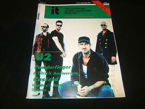 U2-AUSTRALIAN-RECORD-COLLECTORS-MAGAZINE-POWDERFINGER-CUSTARD