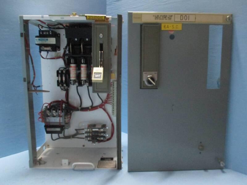 "Siemens Tiastar Furnas 89 Size 2 Starter 100 Amp Fused 24"" MCC MCCB Bucket Sz2"