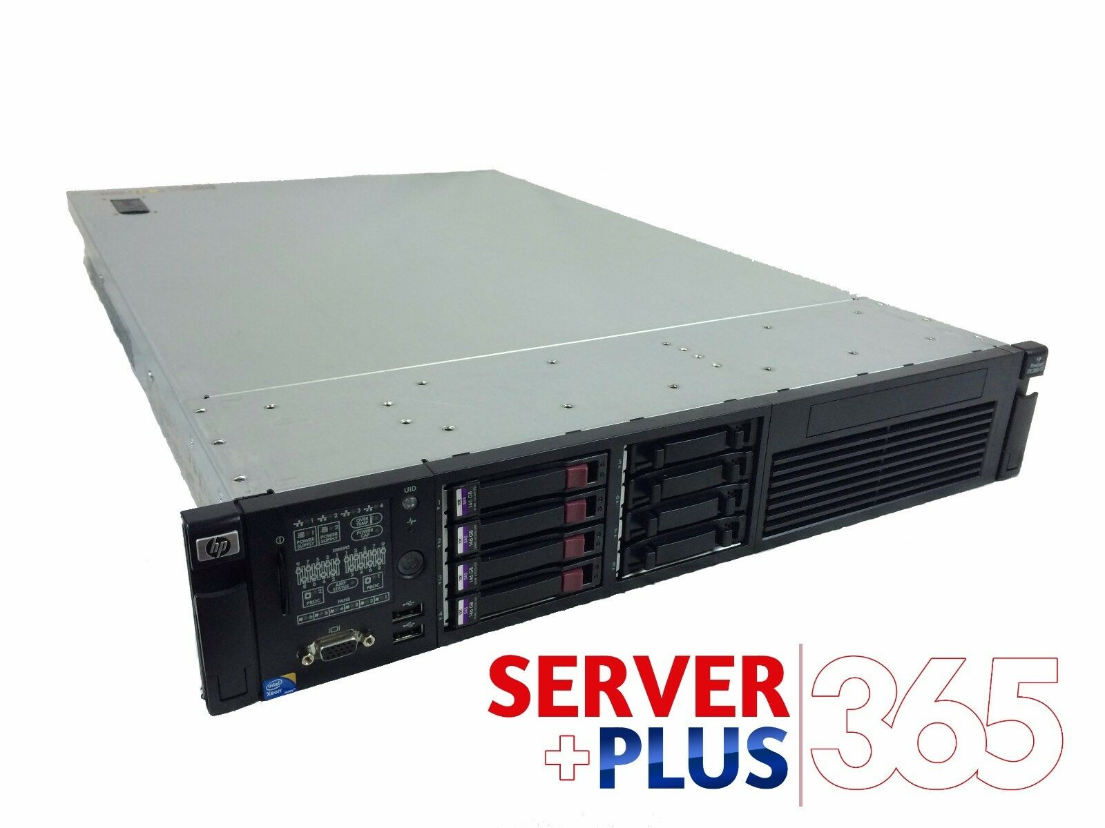 hp proliant dl380 g7 server 2x quadcore 128gb ram 2x 450gb hdd 2x power. Black Bedroom Furniture Sets. Home Design Ideas
