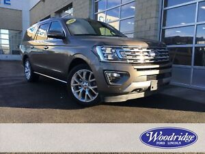 2018 Ford Expedition Max Limited ECOBOOST, NAVIGATION, SUN RO...
