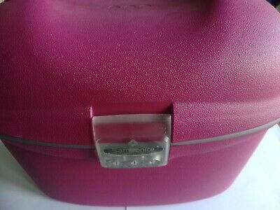 SAMSONITE HARD CASE VANITY BAG PINK (CABIN COLLECTION)
