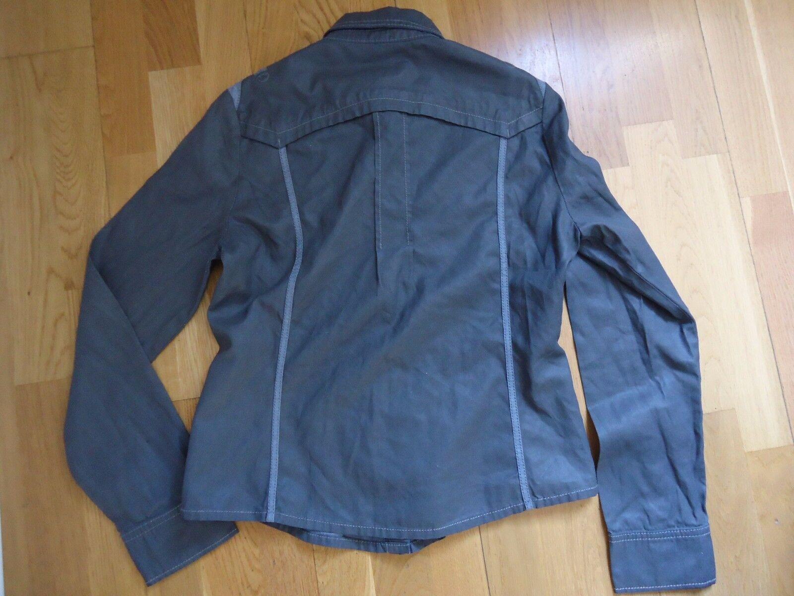 One step chemise surchemise grise résinée t38